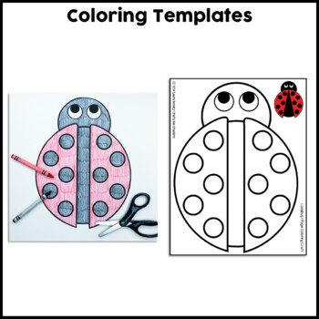 Ladybug Cut and Paste