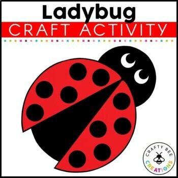 Ladybug Cut and Paste