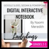 Ladybug Digital Interactive Notebook Google Slides