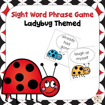 Sight Word Phrases Game 2nd-3rd Grade Lists