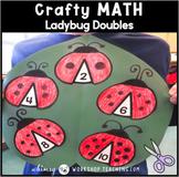 Ladybug Doubles Craft - Simple No Prep Math Crafts