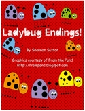 Ladybug Ending Sounds (base word, -ed, -ing)