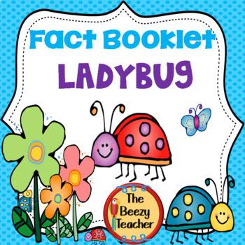 Ladybug Facts Booklet
