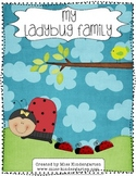 Spring Activities: Ladybug Family