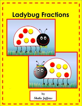 Ladybug Fractions-Part of a set