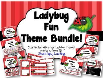 Ladybug Fun! Classroom Bundle