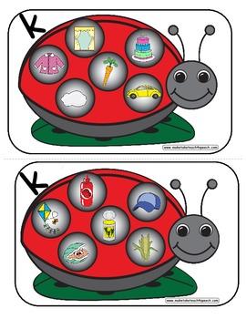 Ladybug Game- K Phoneme