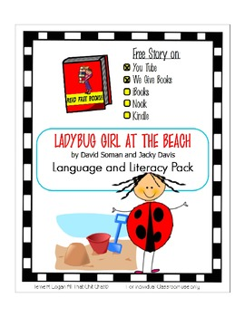 Ladybug Girl at the Beach - Language and Literacy Pack