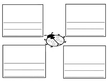 Ladybug Graphic Organizer