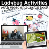 Ladybug Informational Unit: Distance Learning Digital and Print