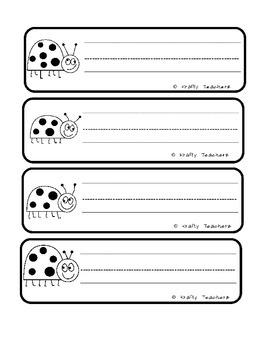 Ladybug Informational Writing Unit (non-fiction)