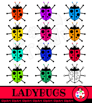 Ladybug Insect Clip Art