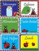 Ladybug Lady Bug Classroom Jobs - EDITABLE