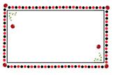 Ladybug Ladybird Challenge Card Template