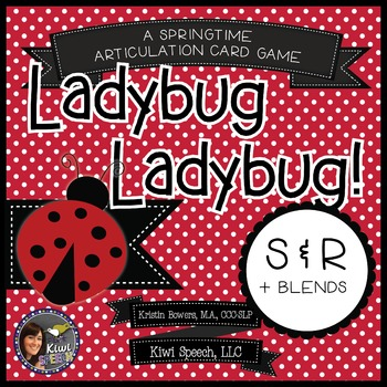 Ladybug Ladybug! - A Spring Articulation Game for Speech - S and R Sounds