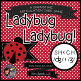 Ladybug Ladybug! - A Spring Articulation Game for Speech - SH, CH, J, & ZH