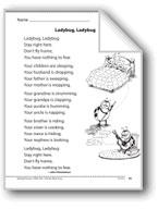 Ladybug, Ladybug (A poem)