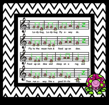 "Ladybug, Ladybug - Cute Song For Intro. To ""Do"" - SM NTBK Ed."