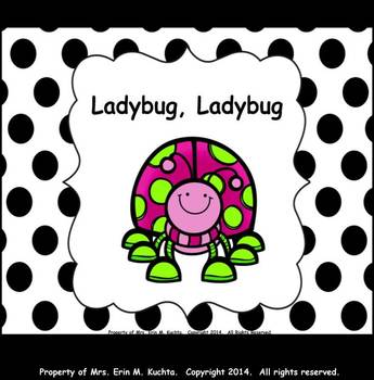 "Ladybug, Ladybug - Cute Song For Intro. To ""Do"" - PPT Edition"