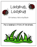 Ladybug, Ladybug Errorless Activity Book