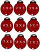 Math- Multipicaton - Ladybug, Ladybug Multiply Your Way Home Board Game