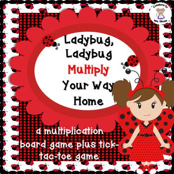 Math-Multipicaton - Ladybug, Ladybug Multiply Your Way Hom
