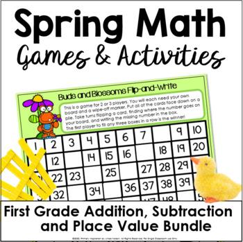 Ladybug Lane 1st Grade Math Games
