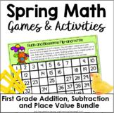 First Grade Spring Math Games