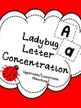 Ladybug Letter Concentration