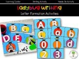 Ladybug Letter Formation Activities