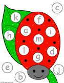 Ladybug Letter Match