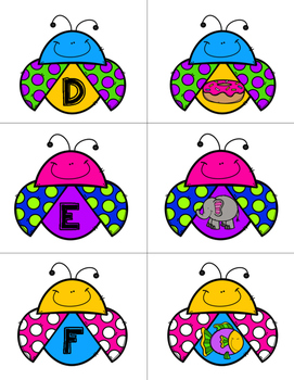 Ladybug Letter Sound Match
