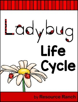 Ladybug Guided Reading for Literacy or Science