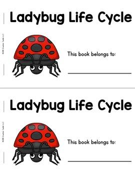 Ladybug Life Cycle Guided Reading Book