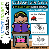 Ladybug Life Cycle Guided Reading Book