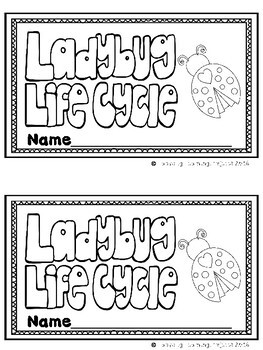 Ladybug Life Cycle (A Sight Word Emergent Reader and Teacher Lap Book)