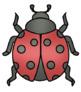 Ladybug Life Cycle Clip Art - Whimsy Workshop Teaching
