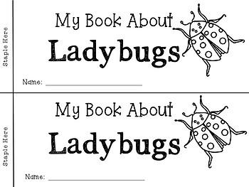 Ladybug Life Cycle Emergent Reader