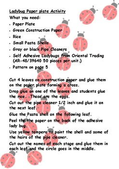 Ladybug Life Cycle, Fun Activities for Youngsters