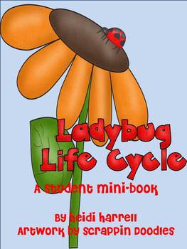 Ladybug Life Cycle Mini-Book (also sold as part of Ladybug