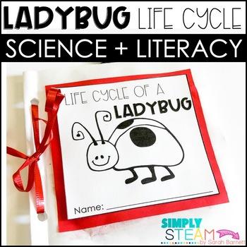 Ladybug Life Cycle Book Close Reading