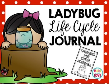 Ladybug Life Cycle Observation Journal