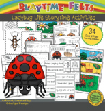 Ladybug Life Cycle PreK Printable Worksheets