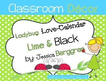 Ladybug Love Calendar