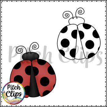 Ladybug Love Ladybugs Clipart (Clip Art) - {FREEBIE!}