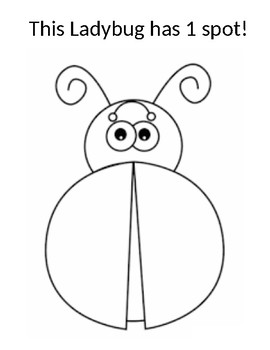 Ladybug Math #1-10 One to One