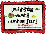 Ladybug Math Center Fun