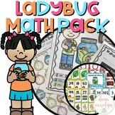 Math Centers and Worksheets {Ladybug Theme}