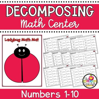 Ladybug Math: Decomposing / Composing Numbers