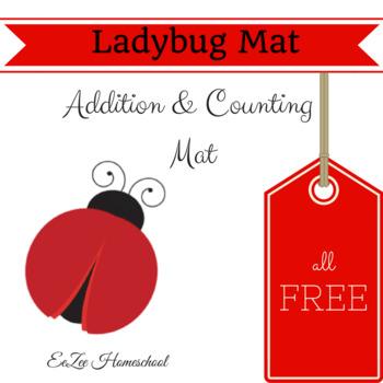 Ladybug Math Mat